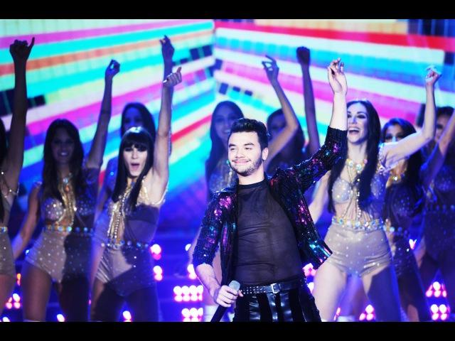Agustín Casanova - Loquita en vivo - desde la pista de Showmatch