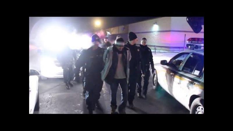 Cop high speed pursuit ending - Poursuite policière à haute vitesse
