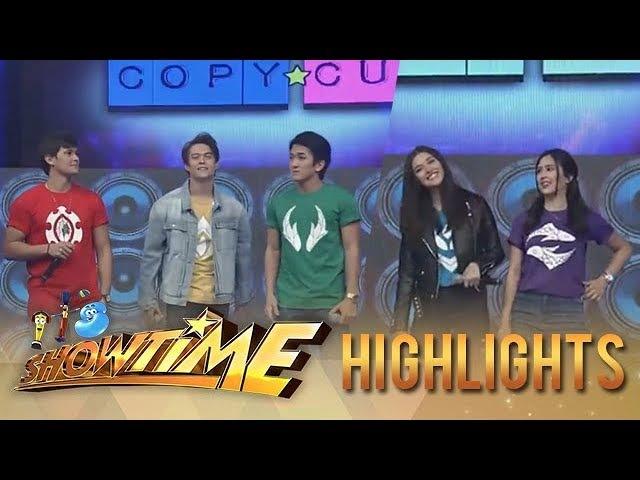 It's Showtime Copy Cut Bagani stars take on the Taga Saan Ka challenge