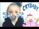 Kids aqua grime Little girl Magic Transform into baby's dummy