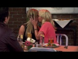 Ashley Tisdale kisses Emily Osment and Jessica Low