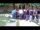 Стаханов, Луганская обл. 3 мая 2014 года. Человека линчевали за то, что он украинец!