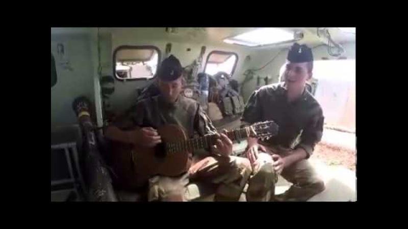 Chanson militaire Français, toute une mission résumée en une chanson