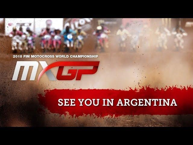 MXGP of Patagonia Argentina - Follow us on MXGP-TV.com Motocross