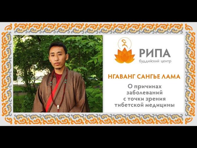 Нгаванг Сангье Лама о причинах заболеваний