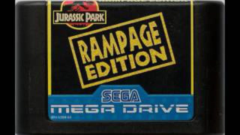 [NostalgiA] [SEGA Genesis \ MegaDrive] Jurassic Park Rampage Edition - Soundtrack OST