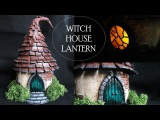 DIY Polymer Clay Witch House LanternJar Tutorial  Maive Ferrando