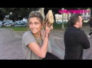 Paris Jackson Hides Behind A Women's Rights Sign At The 2018 Women's March In LA 1.20.18