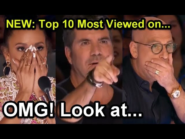 1 NEW: Top 10 Most Viewed America's Got Talent Auditions!