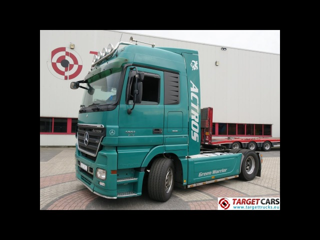 740633 MERCEDES ACTROS 1851LS V8 510HP 4X2 TRUCK TRACTOR 04-07 713774KM GREEN EURO5