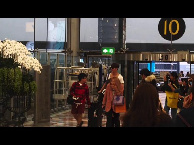 180113 Gxxod ก็อต อิทธิพัทธ์ ♡ At Suvarnabhumi Airport ✈️ Guangzhou