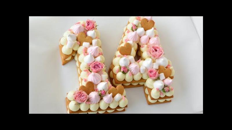 Торт ЦИФРА ☆ Абсолютный ТРЕНД