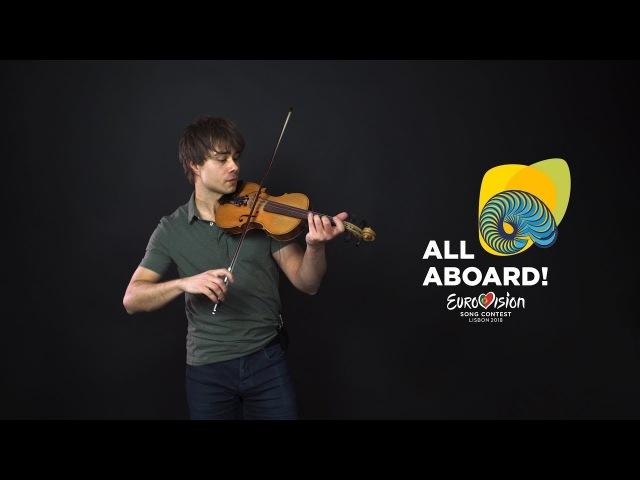 Alexander Rybak Melodi Grand Prix 2018 All Contestants Violin Jam