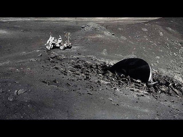 Американские астронавты набрались смелости,и все рассказали.Что попало в объектив лунной камеры