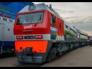 Газотурбовоз ГТ1. Стальной гигант для РЖД: новейший локомотив встал на рельсы.