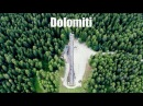 UNESCO World Heritage: The Dolomites in 5K - Aerial Cinematic Video