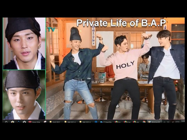 B.A.P [ENG SUB] Heyo TV full episode Pt.1 Mission Games Dance (Private Life of B.A.P Season 3-2)