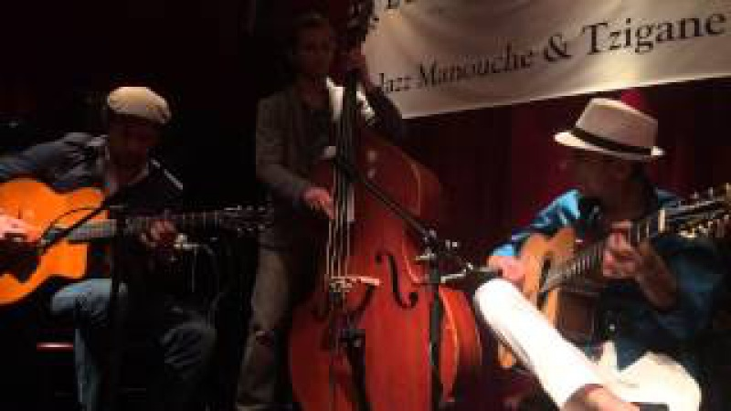 Angelo Debarre, Adrien Moignard, William Brunard perform