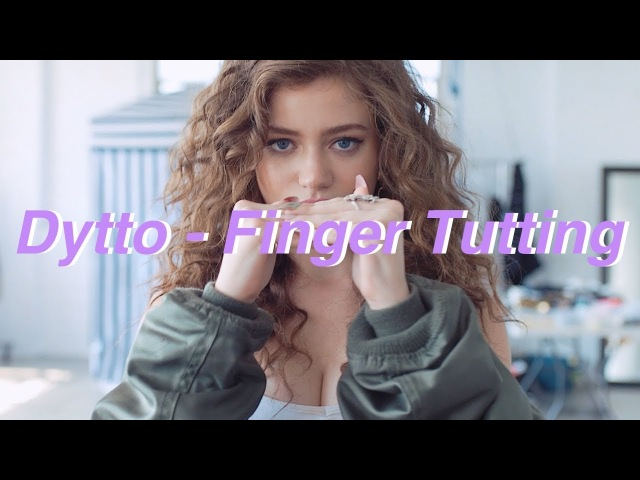 Dytto   China Glaze Chic Physique   Finger Tutting   CGxDytto