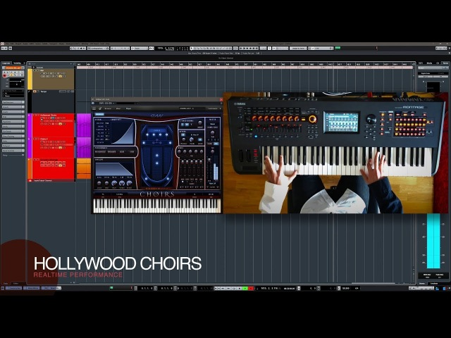Hollywood Choirs First Look- Realtime Performance Improvisation