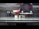 Новый 3D-принтер Faberant Cube. Печать АБС-пластиком