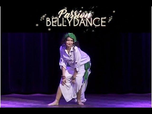 Jannat @ Passion Bellydance Show in Paris - Dec 2017