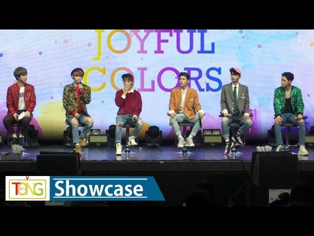 JBJ My Flower(꽃이야) Showcase -TALK- (쇼케이스 토크, True Colors, 트루 컬러즈)
