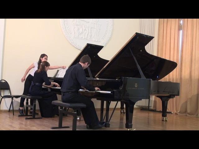Моцарт Концерт для фортепиано с оркестром №20 d moll K466 1часть Б Кривошеин Н Феденко