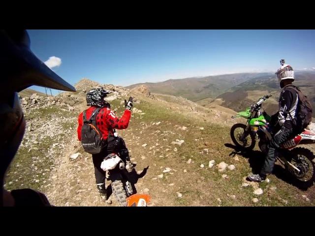 Эндуро альпинизм: трудная дорога на Бермамыт