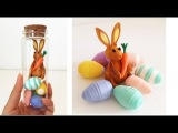Paper Quilling Easter Bunny with Eggs 3D Paper Quilling Easter Learning video