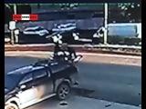 Два бухих байкера столкнулись на повороте к виннику (Сухой Лог)
