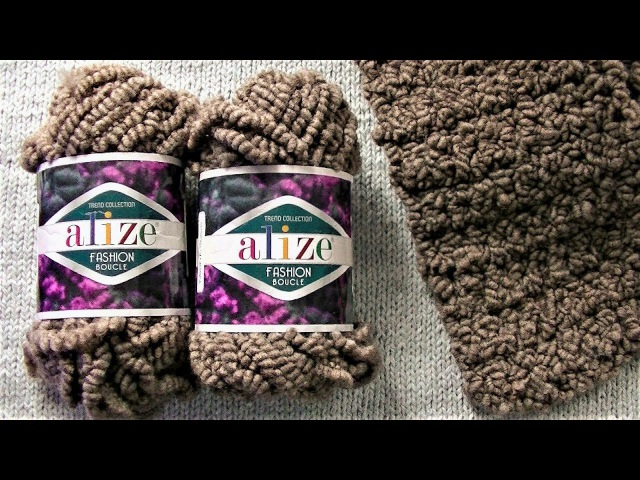 Обзор Alize Fashion Boucle