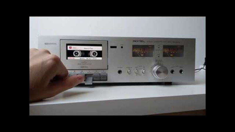 Rotel RD-300M - MP3 TapeLess Deck Project