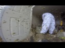 Уничтожение большого гнезда шершней
