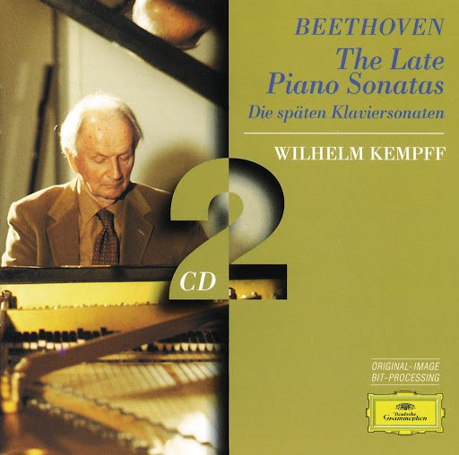 Wilhelm Kempff альбом Beethoven: The Late Piano Sonatas (2 CD's)