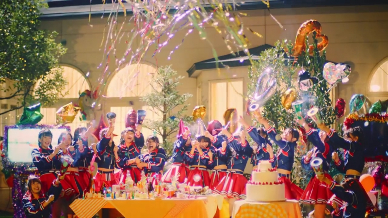 SKE48 Muishiki no iro Русские субтитры