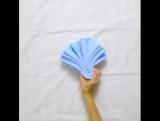 Красиво складываем полотенца