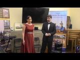 Солисты оперы Инесса Новик и Юрий Порохня