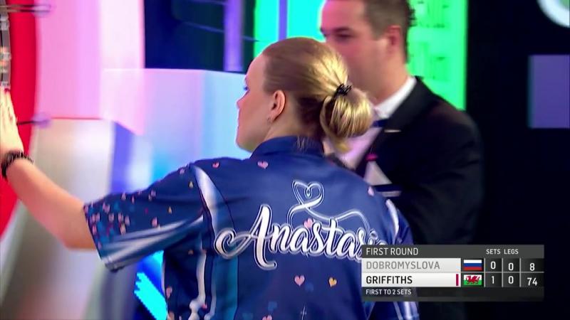 Anastasia Dobromyslova vs Rhian Griffiths (BDO World Darts Championship 2017 Round 1)