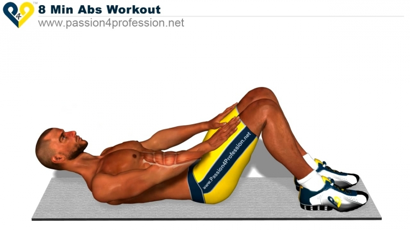Lvl 1 - 8 Min Abs Workout, how to have six pack