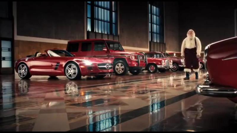 Peter Xifo - Santas Choice - Mercedes Benz, Santa.