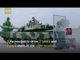 Impossible_Challenge__Chinese_soldier_drives_tank_like_sports_car
