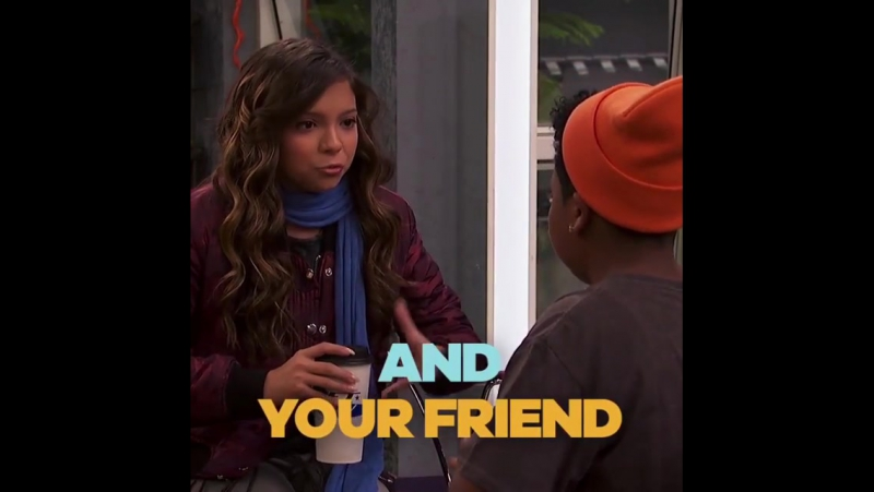 Who do you think Trip's friend is 🤔 See if you guessed correctly during a new GameShakers on Saturday at 8 30p 7 30c