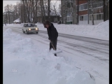 На ул. Обская со стороны роспотребнадзора исчезло место для остановки пассажирских автобусов