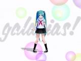 【MMD DMC3】galaxias! Miku Hatsune!