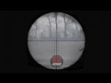 боец ВСУ убегает от снайпера ДНР