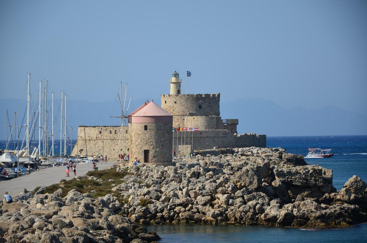 M7cYecBok-4 Родос - столица солнечного острова.