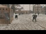 Montpellier   galères et joies de la neige en cente-ville.  Suivez notre LIVE...