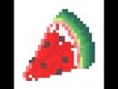Маленький кусок арбуза
