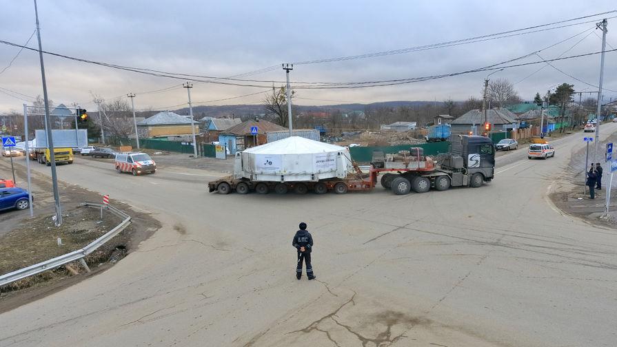 В Зеленчукский район доставили обновленное резервное зеркало для БТА САО РАН